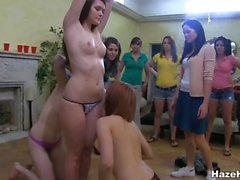 Sweet strapon poundings for lesbo sweethearts
