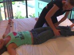 Zen Tickling Girls Team Up Against Foxy Roxy