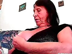 mollig Großmutter