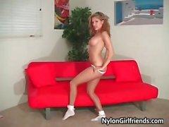 Beautiful Erika Jordan taking her part3