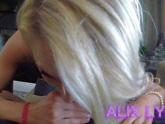 Alix Lynx - för utpressning av pappa