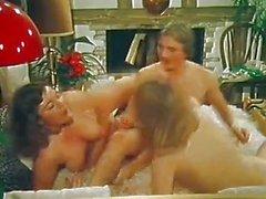 Lesbian girlfriends share cock