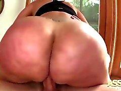 Fat Arsch Latina Das Schicksal Anale Pounding