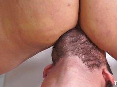 TransBella - Tranny Luana Bazooka gets her ass pounded hard
