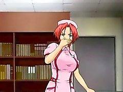 Big boobs bambina Hentai ottiene il shock elettrico