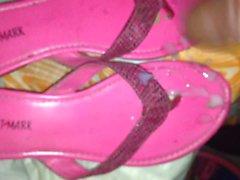 Arabic aunt sandals cummed