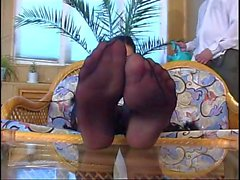russian nylon foot fetish and sex