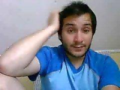 Ragazzi etero i piedi sul webcam # 362