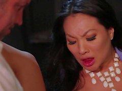 Dur bureaux rapports sexuels avec chaud porno star asiatique Asa Akira
