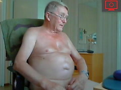 Grand-père branler & show ass