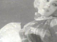Années 1950 cinéma strip-tease de la cerfs