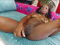 Barbiee freaky little black girl