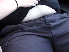 Jennifer White sucks a fat mans cock
