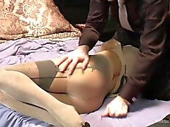 Using Stocking for Sex Bondage