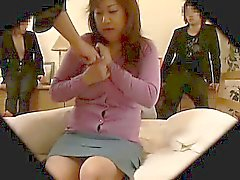 Hard Wife reluctant Gangbang 2
