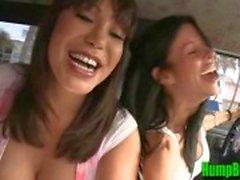Mulheres maduras Ava Devine Encontra um galo aleatório de chupar