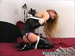 Sadomasoquismo Woman Spanked manera explícita