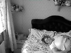 Quick wank on hiddn cam