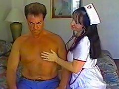 Head Nurse Blows Her Patient