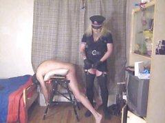 analer Polizist