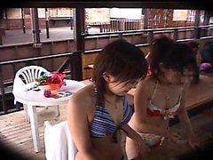 Nubile Films Happy ending lesbian massage