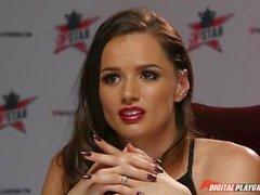 DP Star 3 - Hot Ebony Ehemaliges Model Ana Foxxx Deep Throat Blowjob