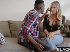 BLACKED Samantha Saint Cheats med BBC
