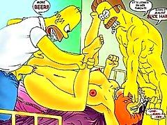 Simpsons Hentai Orgien