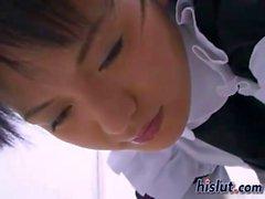 Satsuki as a maid