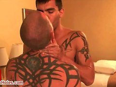 Weisen Daniels und Shane Stein im Homosexuell