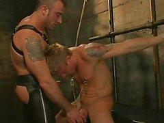 Un ragazzo che schiavi ottiene un Orologio Tortue cazzo come una punizione