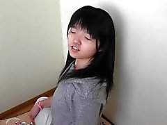 Japanese teen girl shows her ticklish soles part 2