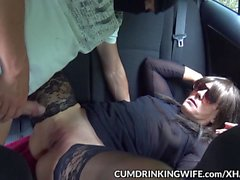Slutwife Marion gets creampied by plenty of guys