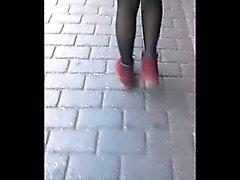 Турецкая девочек с сексуальными чулках составления