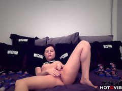 Teen Camgirl Cums Harder Than Ever Before