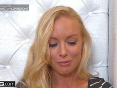 BANG Confessions: Kayden Kross sexig lap dance leder till ass fucking