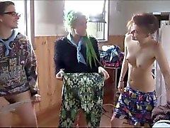 Amatören lesbisk Gruppen muffdive