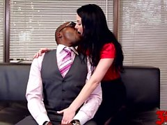 Veruca James liebt ihre Bosses Big Cock