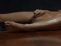 Esposa masturbates longa e lenta casa sozinho