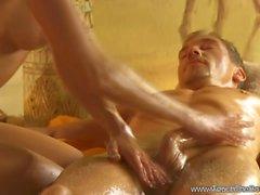 Smooth Massage Sensation for a Huge Cock