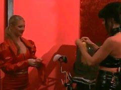 2 Mistress use slave