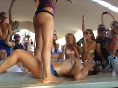Mykonos Super Paradise Beach Party 2015