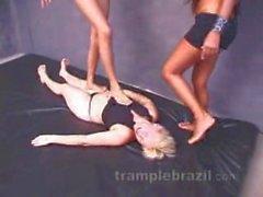 2 mulatto's girls trample