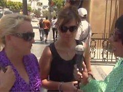 Snow leoparden Hollywoods boulevarden MOT LUFT i Yeena Fishers