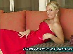 Red Dress d'alison d'ange de Le sexy Agit comme guichet Modèle de mode