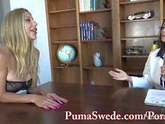 Busty Babe Arielle Tekee Puma Swede Hänen seksilelu!