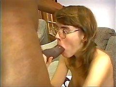 Black cock pounds a horny hottie hole