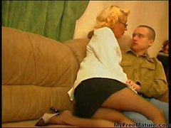 Russian Granny Women sex With Young Guys 01