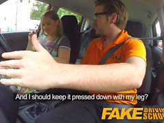 Fake Driving School Learners post lesson horny orgasm fuck session