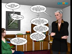 3D Comic: Malevolent Intentions. Episodes 1-4
